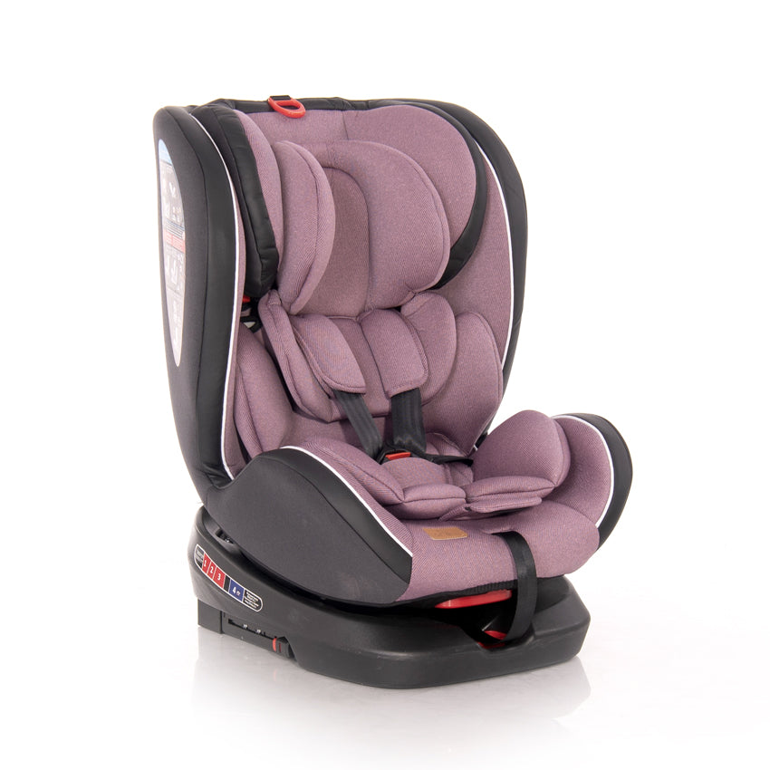АВТОСТОЛ NEBULA ISOFIX 0-36 KG ROT.GREY CROWNS