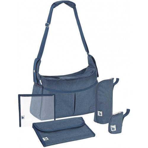 Чанта Urban Bag Melanged blue