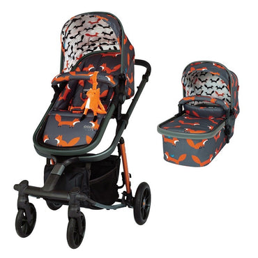 Cosatto CT4164 GIGGLE QUAD CHARCOAL MISTER FOX бебешка количка