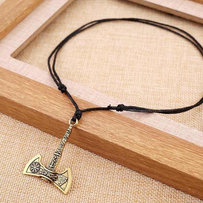 Nordic Vikings Axe Necklace