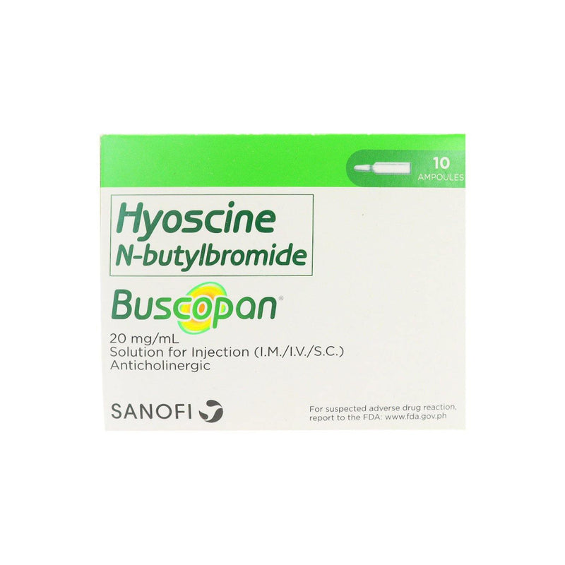 Buscopan 20 mg / ml Ampoules