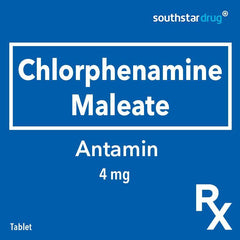 Rx: Antamin 4 mg Tablet