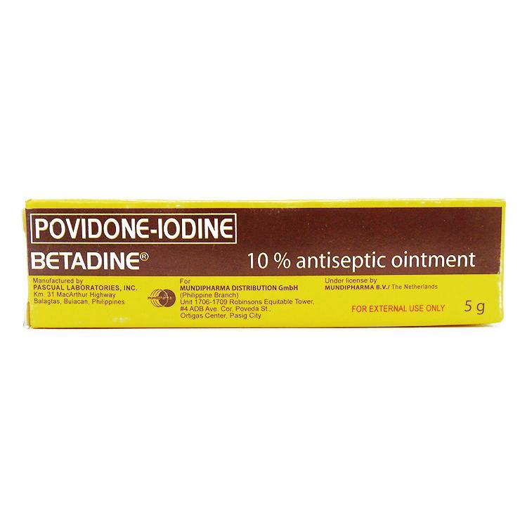 Betadine 10% 5 g Ointment