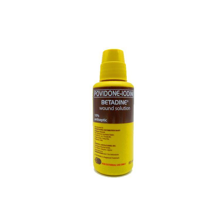 Betadine 10% 60 ml Wound Solution