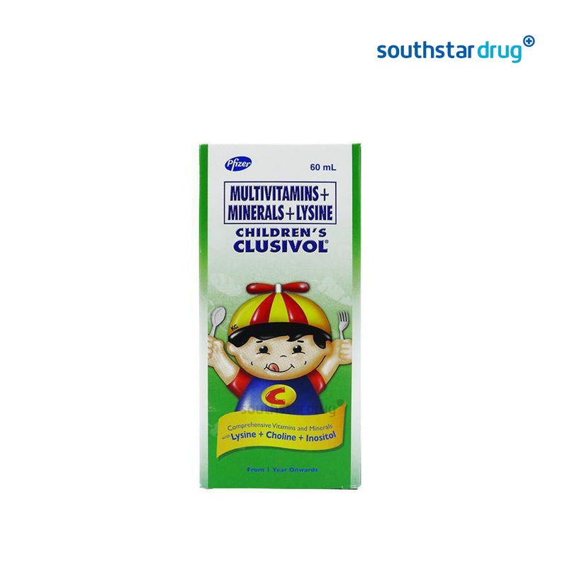 Clusivol 60 ml Syrup