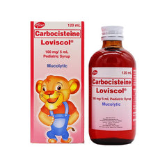 Loviscol Pediatric 100 mg / 5 ml 120 ml Syrup