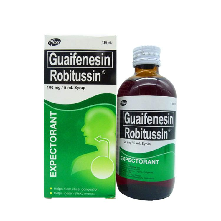 Robitussin PL 100 mg / 5 ml 120 ml Syrup