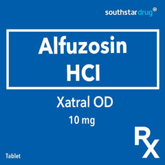 Rx: Xatral OD 10 mg Tablet