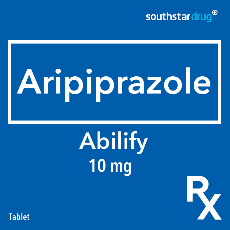 Rx: Abilify 10 mg Tablet