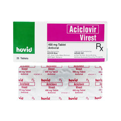 Rx: Virest 400 mg Tablet