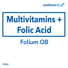 Folium OB Tablet - 20s
