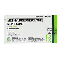 Rx: Mepresone 4 mg Tablet