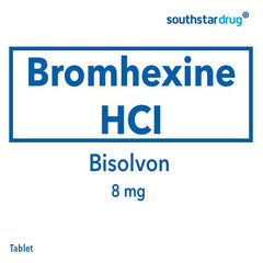 Bisolvon 8 mg Tablet - 20s
