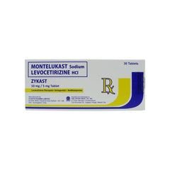 Rx: Zykast 10 mg / 5 mg Tablet