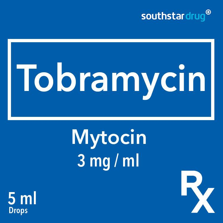 Rx; Mytocin 3 mg / ml 5 m l Drops