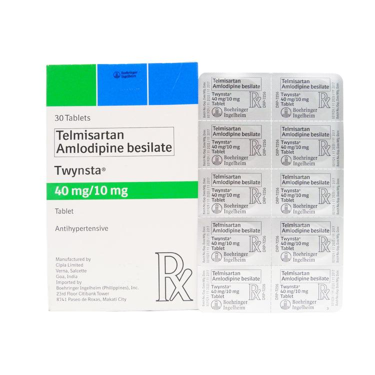 Rx: Twynsta 40 mg / 10 mg Tablet