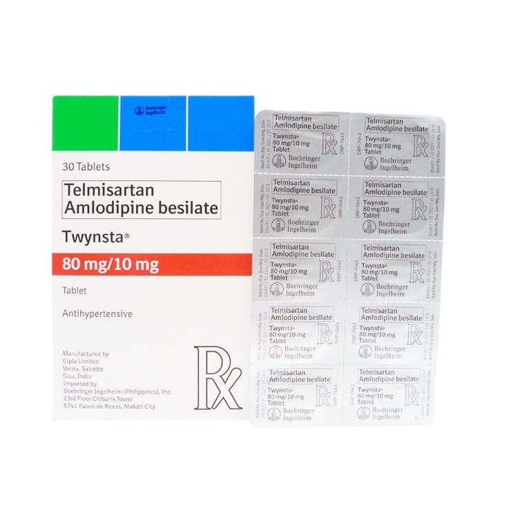 Rx: Twynsta 80 mg / 10 mg Tablet