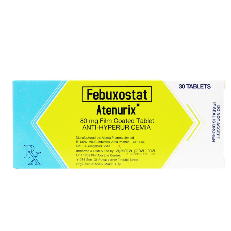 Rx: Atenurix 80 mg Tablet