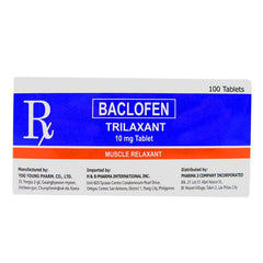 Rx: Trilaxant 10 mg Tablet