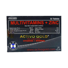 Activo Gold Tablet - 32s