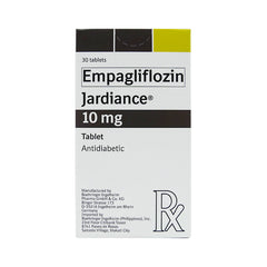 Rx: Jardiance 10 mg Tablet