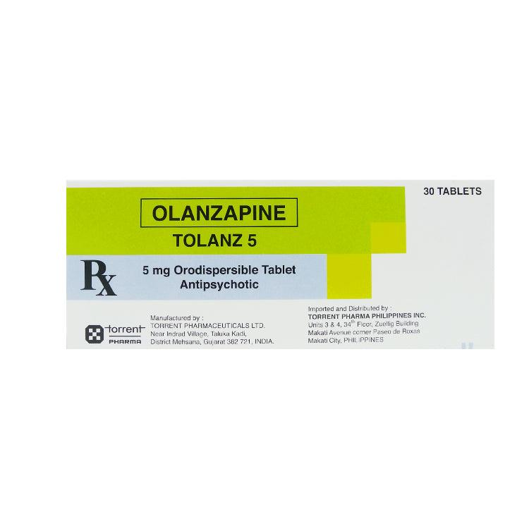 Rx: Tolanz 5 5 mg Tablet