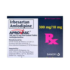 Rx: Aprovasc 300 mg / 10 mg Tablet