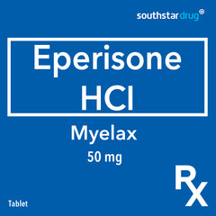 Rx: Myelax 50 mg Tablet