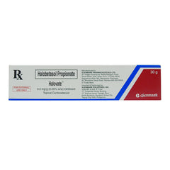 Rx: Halovate 0.5 mg / g 30 g Ointment