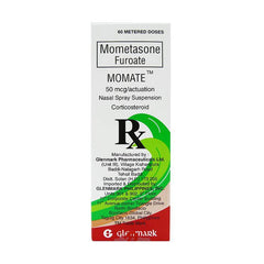 Momate 50 mcg / Actuation 60 Dose Nasal Spray Suspension