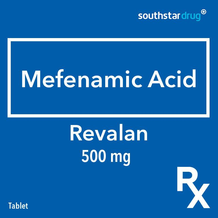 Rx: Revalan 500 mg Tablet