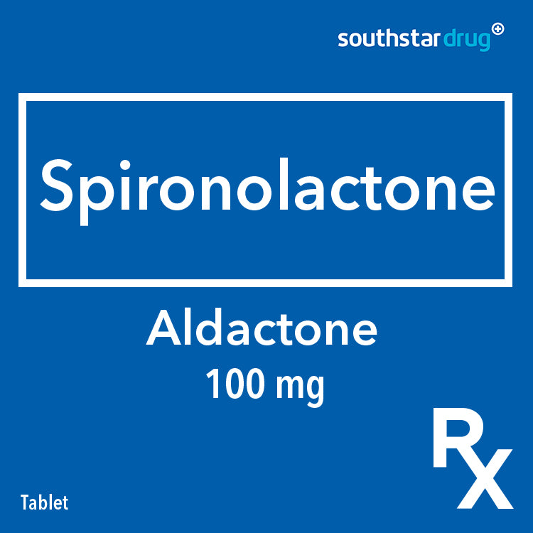 Rx: Aldactone 100 mg Tablet