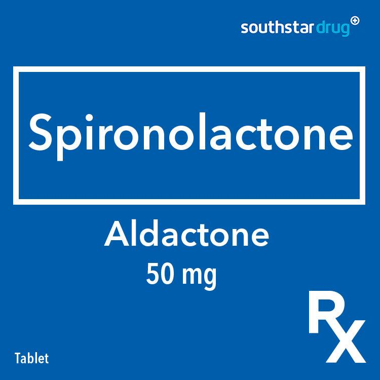 Rx: Aldactone 50 mg Tablet