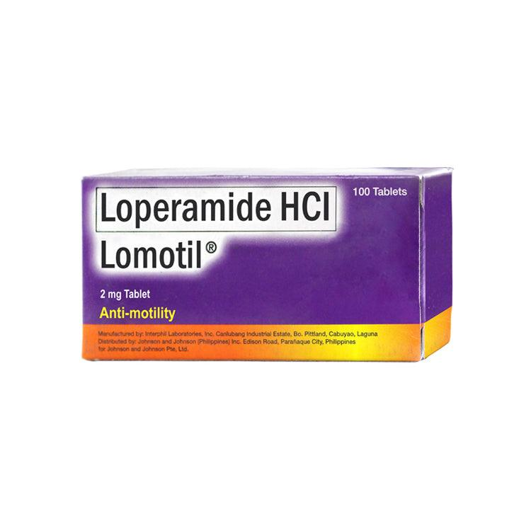 Lomotil 2 mg Tablet - 20s