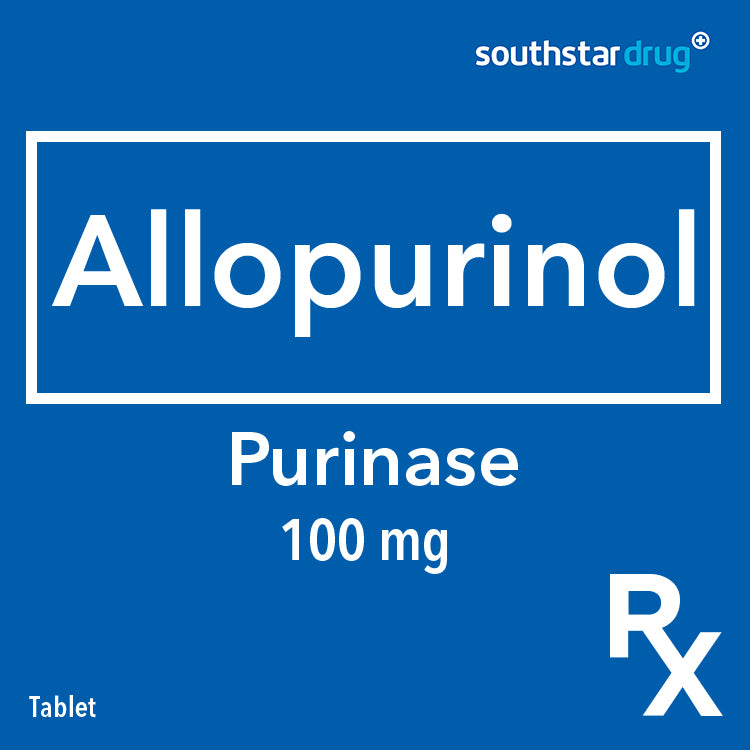 Rx: Purinase 100 mg Tablet