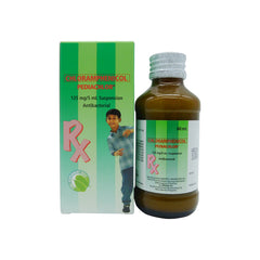 Rx: Pediachlor 125 mg / 5 ml 60 ml Oral Suspension
