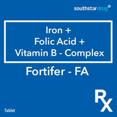 Rx: Fortifer FA Tablet