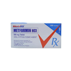 Rx: RiteMed Metformin 500 mg Tablet