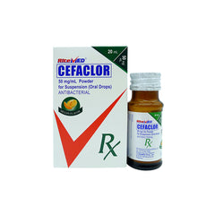 Rx: RiteMed Cefaclor 50 mg / ml 20 ml Oral Drops