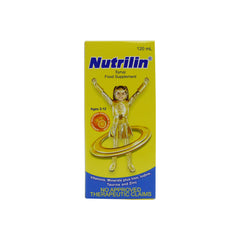 Nutrilin For Kids Orange Flavor 120 ml Syrup