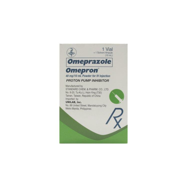 Rx: Omepron 40 mg Vial