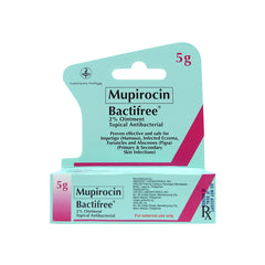 Rx: Bactifree 20 mg 5 g Ointment