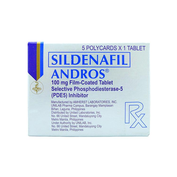 Rx: Andros 100 mg Tablet