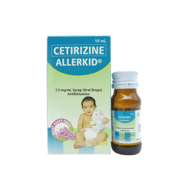 Allerkid Grape Flavor 2.5 mg / ml 10 ml Oral Drops
