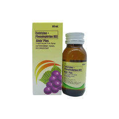 Rx: Alnix Plus 5 mg 60 ml Syrup