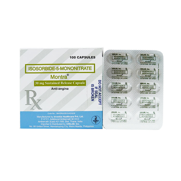 Rx: Montra 30 mg Capsule