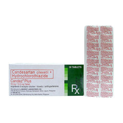Rx: Candez Plus 16 mg / 12.5 mg Tablet