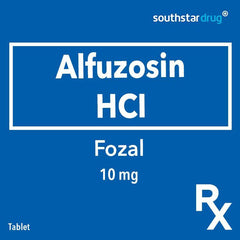 Rx: Fozal 10 mg Tablet