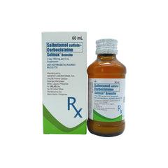 Rx: Solmux Broncho 2 mg / 500 mg 60 ml Oral Suspension