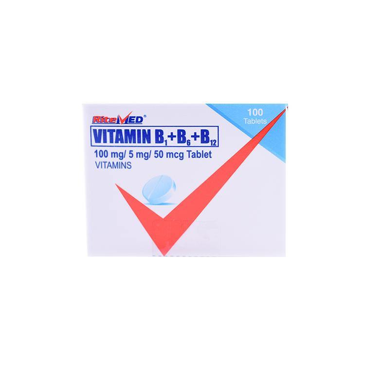 RiteMed Vitamin B - Complex Tablet - 20s